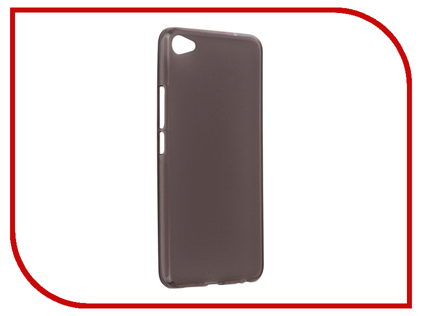 Аксессуар Чехол Meizu U20 Apres Protective Case Transparent-Gray аксессуар защитное стекло meizu u20 solomon full cover white