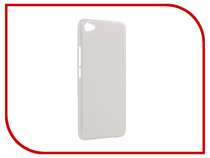 Аксессуар Чехол Meizu U20 Apres Protective Case Transparent-White аксессуар защитное стекло meizu u20 solomon full cover white