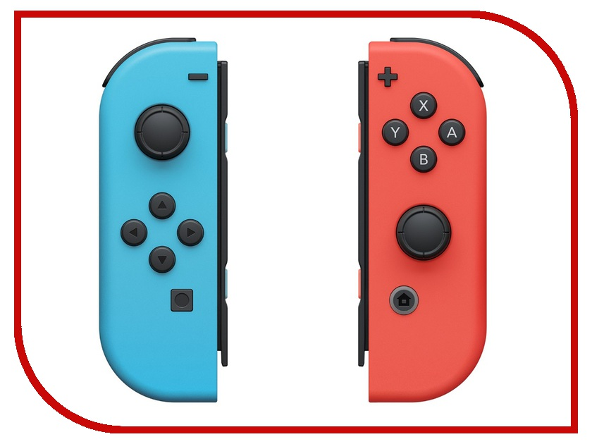 Контроллер Nintendo Joy-Con Red-Blue ACSWT5