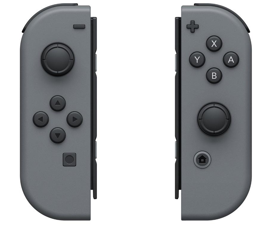 Контроллер Nintendo Joy-Con Gray ACSWT4
