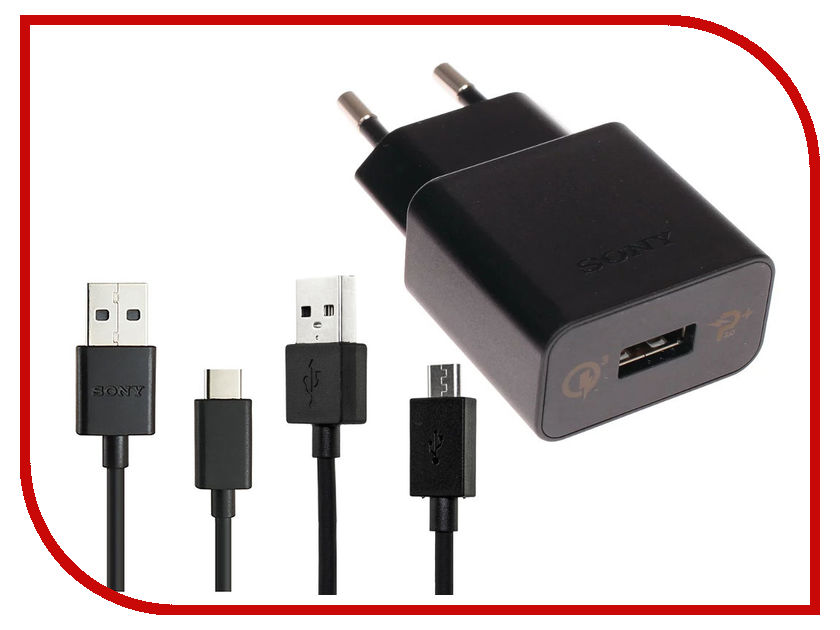 Зарядное устройство Sony UCH12W Black зарядное
