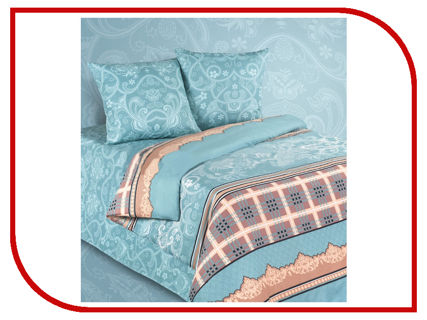 Постельное белье Экзотика 511 Комплект Евро Сатин постельное белье экзотика реноме комплект евро сатин