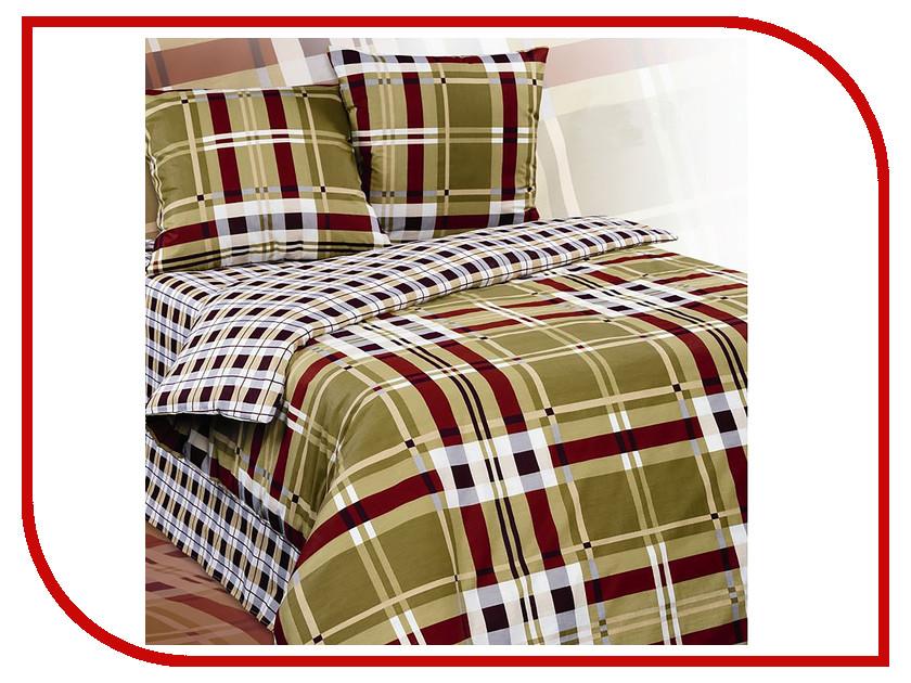 Постельное белье Экзотика Презент Комплект 2 спальный, простыня на резинке Поплин