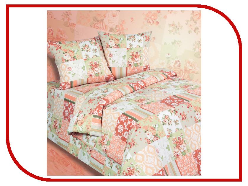 Постельное белье Экзотика 530 Комплект 2 спальный, простыня на резинке Поплин marshal шина marshal i zen kw22 195 55 r15 89t под ошиповку