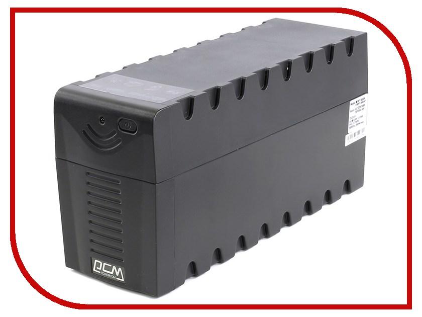 Источник бесперебойного питания Powercom Raptor RPT-600A Black