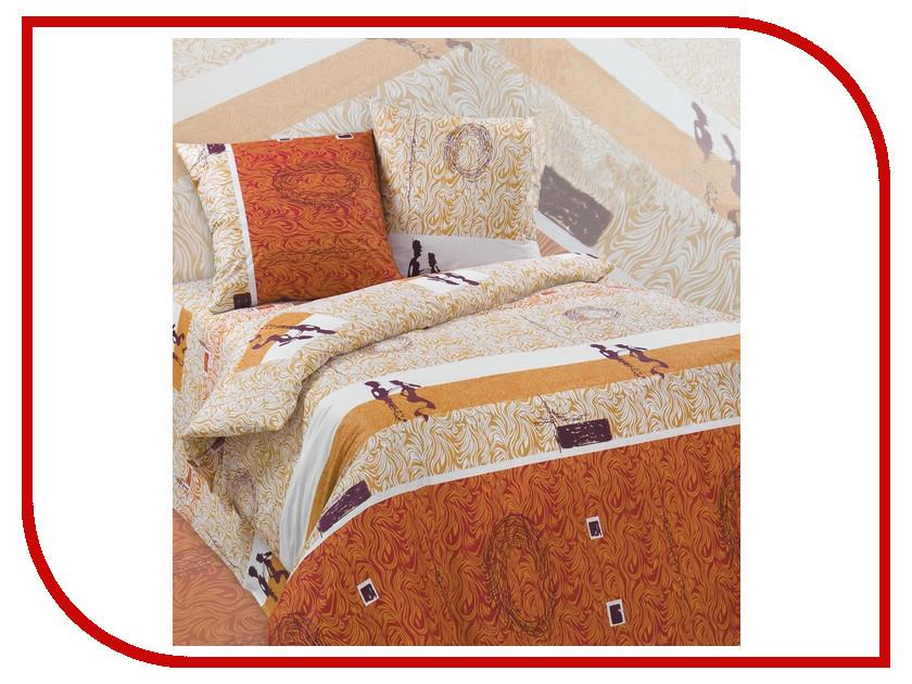 Постельное белье Экзотика Тунис Комплект Семейный Поплин постельное белье утренний сад поплин семейный