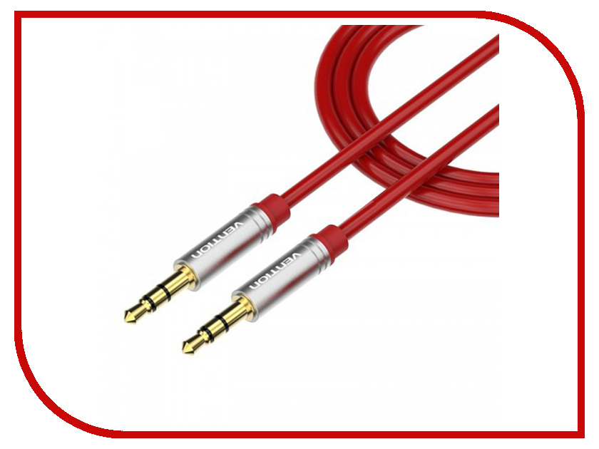 Аксессуар Vention Jack 3.5 mm M/Jack 3.5 mm M Red P360AC-R цена и фото
