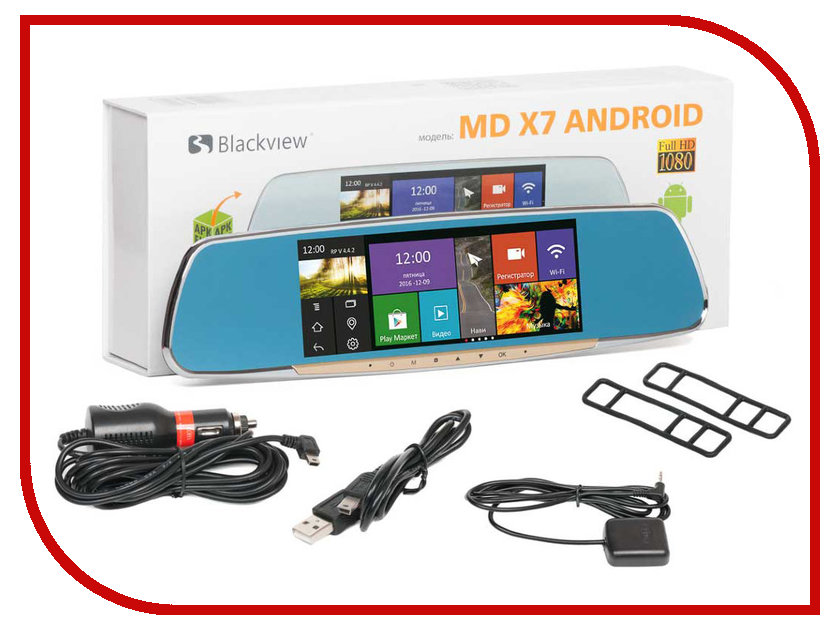 Видеорегистратор Blackview MD X7 Android Single blackview md x6 dual