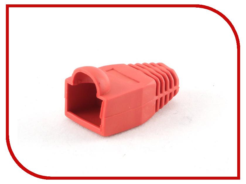 Колпачок Gembird для коннектора RJ-45 Red BT5RD/5 - 100шт cтяжка пластиковая gembird nytfr 150x3 6 150мм черный 100шт