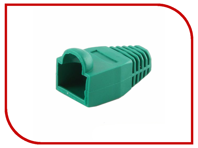 Gembird Колпачок для коннектора RJ-45 100шт Green BT5GN/5 cтяжка пластиковая gembird nytfr 150x3 6 150мм черный 100шт
