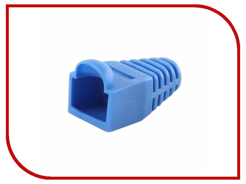 Колпачок Gembird для коннектора RJ-45 Blue BT5BL/5 - 100шт колпачок gembird для коннектора rj 45 grey bt5gy 5 100шт