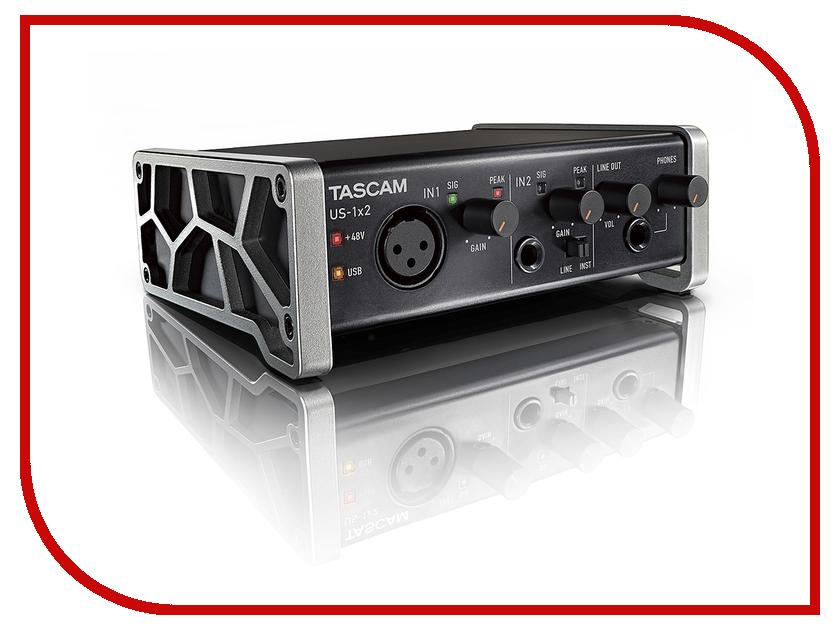 Аудиоинтерфейс Tascam US-1x2 tascam cd 200i