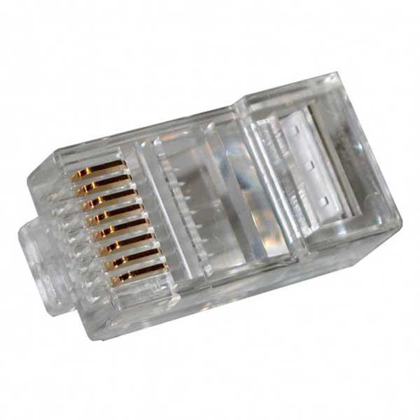 Коннектор Gembird RJ45 UTP PLUG3UP6/5 - 100шт коннектор gembird cablexpert rj45 8p8c cat 5e plug3up6 10 10шт