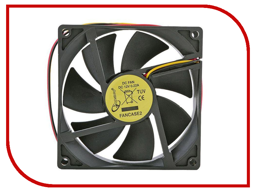 Вентилятор Gembird FANCASE2 ccv 519 gembird