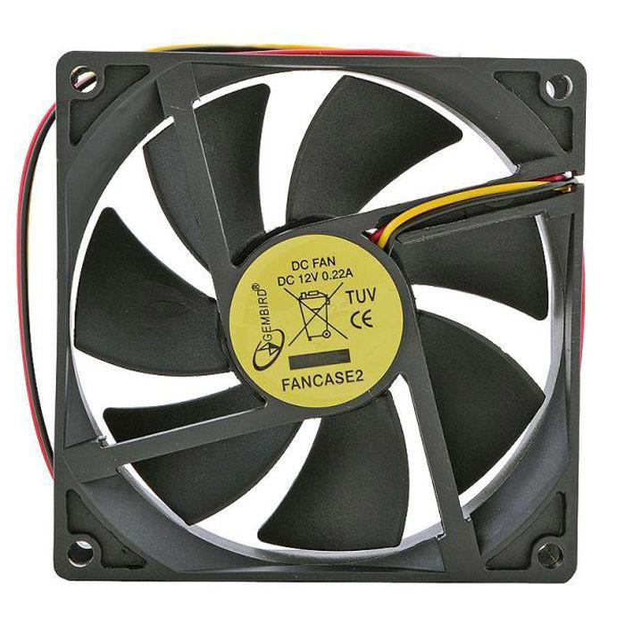 Вентилятор Gembird FANCASE2