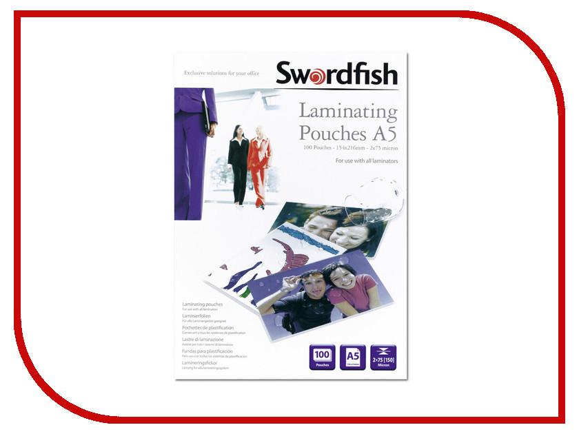 Пленка для ламинирования Swordfish А5 2x125 мкр 25шт SF48022