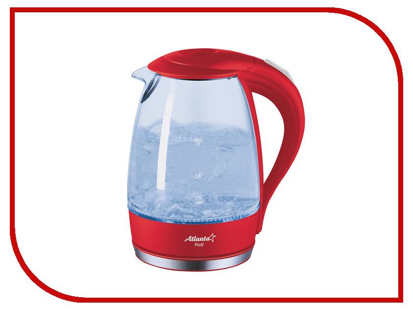 Чайник Atlanta ATH-2461 Red чайник atlanta ath 2420 red