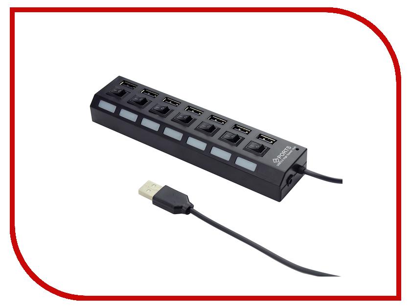 Хаб USB Gembird 7 Ports UHB-U2P7-02 хаб usb gembird 4 ports uhb c244