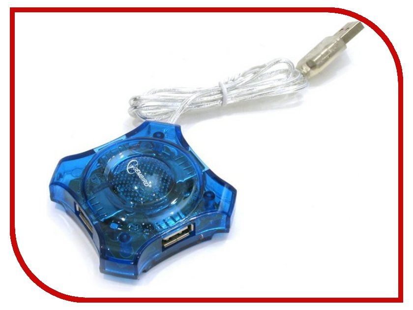 Хаб USB Gembird 4 Ports UHB-C224 fancase 4 gembird