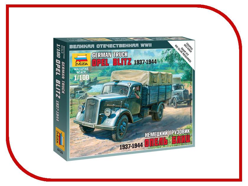 Сборная модель Zvezda Немецкий грузовик Опель Блиц 6126 купить бу двигатель опель астра 1