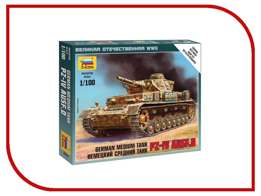 Сборная модель Zvezda Немецкий танк T-IV 6151
