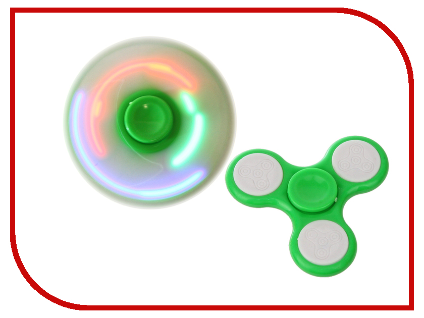 Спиннер Activ Hand Spinner 3-лопасти Hs02 Green 72739