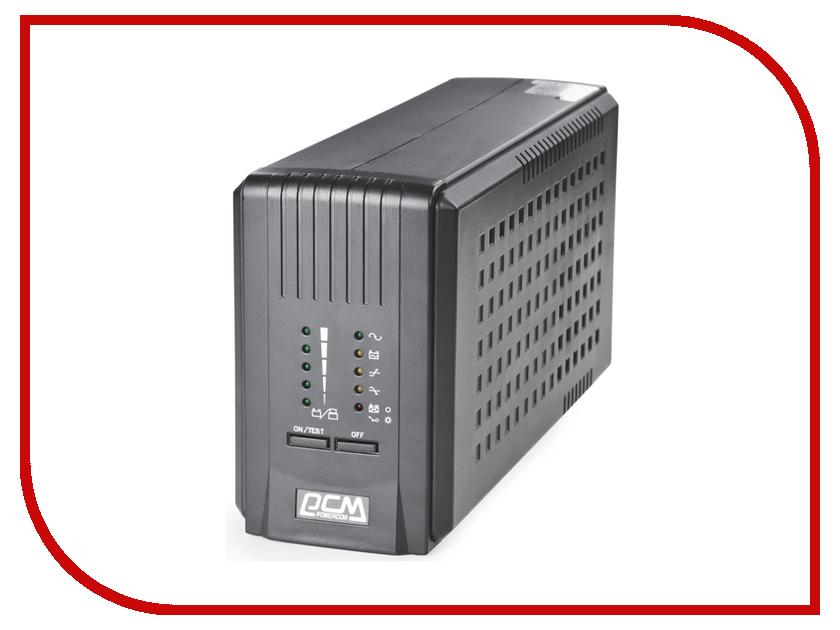 Источник бесперебойного питания Powercom Smart King Pro+ SPT-700 Black
