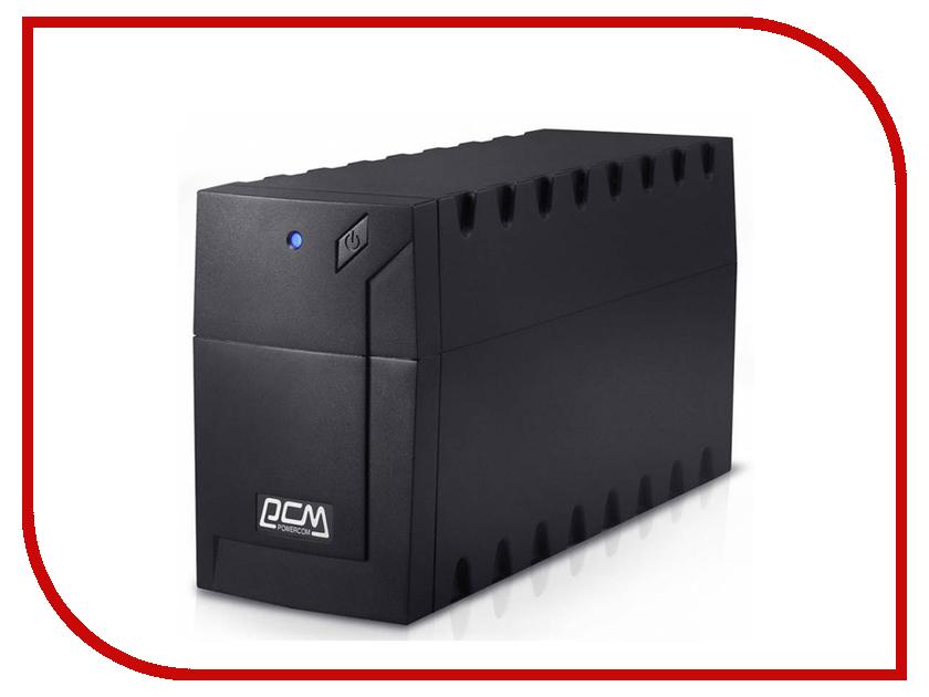 Источник бесперебойного питания Powercom Raptor RPT-1000AP Black источник бесперебойного питания powercom raptor rpt 1000a euro 1000вa