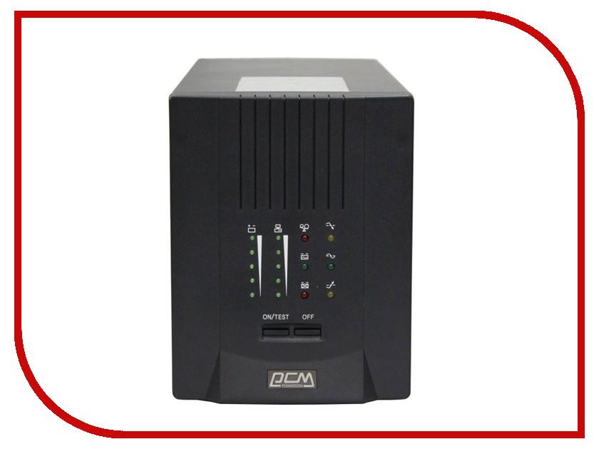 Источник бесперебойного питания Powercom Smart King Pro+ SPT-1000 Black