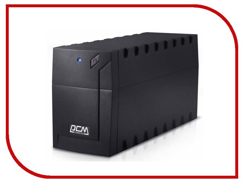 Источник бесперебойного питания Powercom RPT-800A Euro ибп powercom rpt 800a raptor 800va 480w avr 2 1 euro