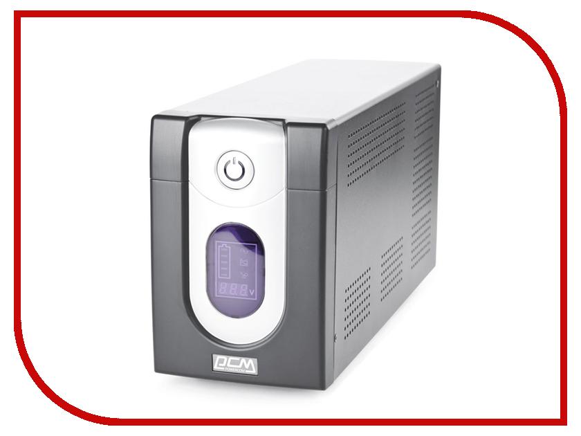Источник бесперебойного питания Powercom Imperial IMD-2000AP Black источник бесперебойного питания powercom imd 525ap