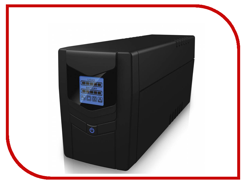 Источник бесперебойного питания Ippon Back Power LCD Pro 800 708220 источник бесперебойного питания ippon back power lcd pro 800
