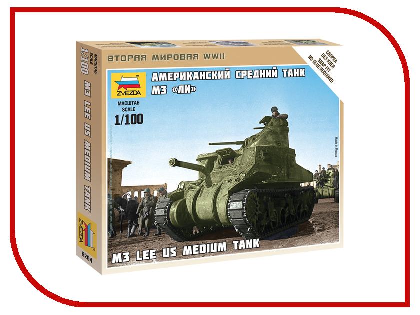 Сборная модель Zvezda Американский средний танк Ли М3 6264
