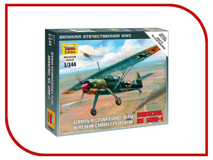 Сборная модель Zvezda Немецкий самолёт-разведчик Henschel 6184