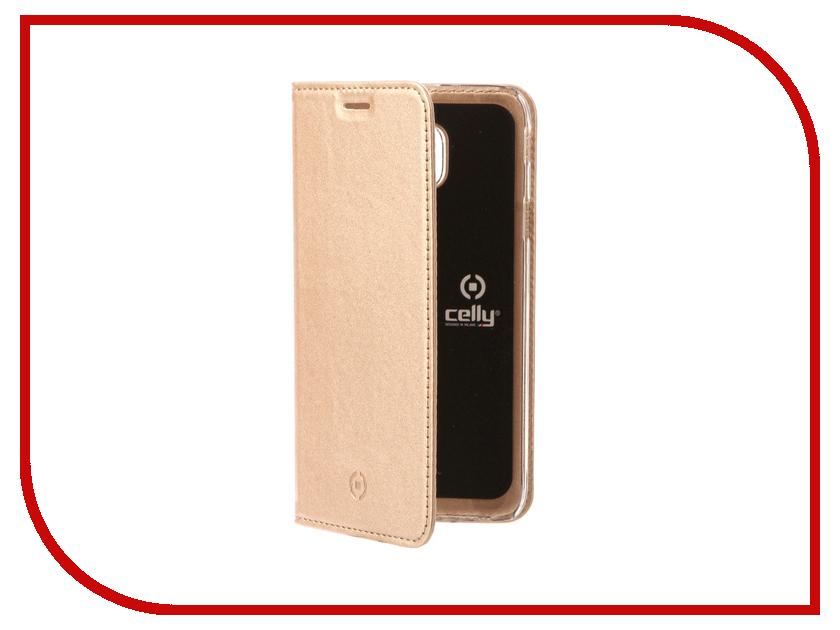 все цены на Аксессуар Чехол для Samsung Galaxy J3 2017 Celly Air Case Gold AIR663GDCP онлайн