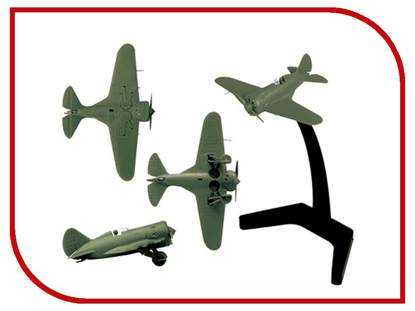 Сборная модель Zvezda Советский истребитель И-16 6254