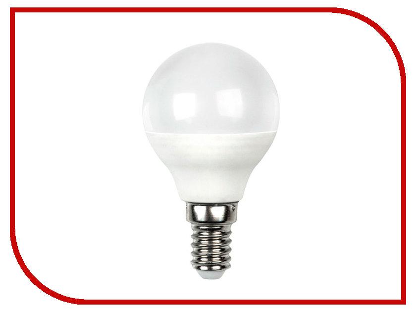 Лампочка Dialog LED G45-E14-4W-3000K лампочка dialog led a60 e27 12w 3000k