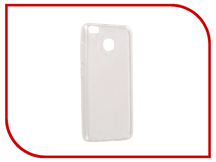 Аксессуар Чехол Xiaomi Redmi 4X BoraSCO Silicone Transparent аксессуар защитное стекло xiaomi redmi note 4x borasco full cover black 0 2mm