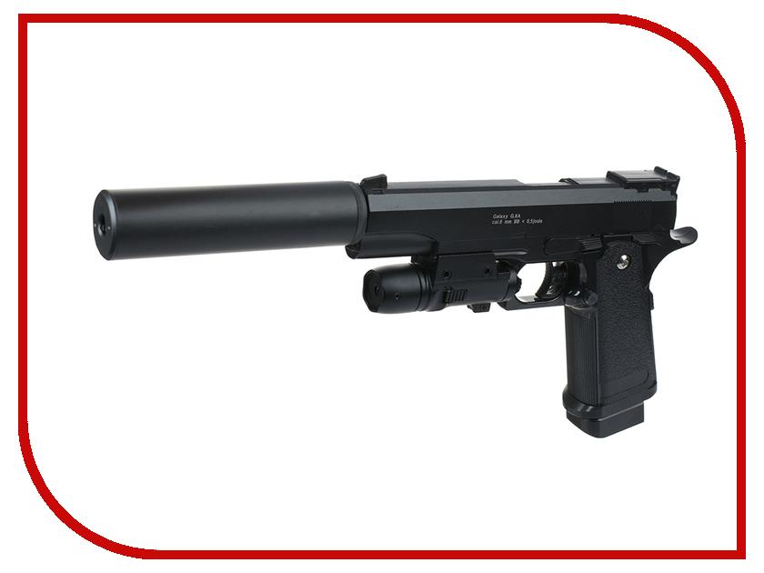 Страйкбольный пистолет Galaxy G.6A Colt 1911 PD страйкбольный пистолет galaxy g 20d browning desert