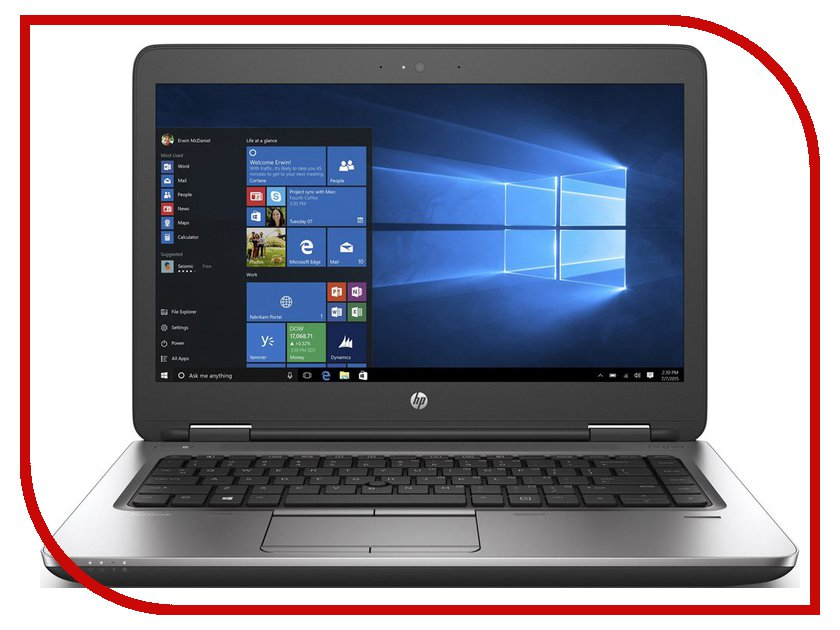 Ноутбук HP ProBook 640 G2 Y3B15EA (Intel Core i3-6100U 2.3 GHz/4096Mb/500Gb/DVD-RW/Intel HD Graphics/Wi-Fi/Bluetooth/Cam/14/1366x768/Windows 7 64-bit) hp probook 640 g2