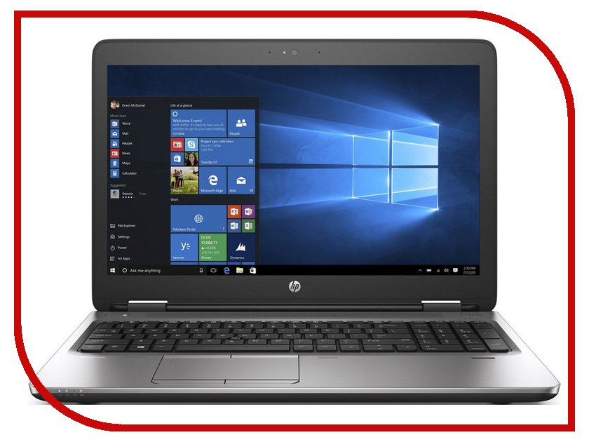 Ноутбук HP ProBook 650 G2 Y3B16EA (Intel Core i3-6100U 2.3 GHz/4096Mb/500Gb/DVD-RW/Intel HD Graphics/Wi-Fi/Bluetooth/Cam/15.6/1366x768/Windows 7 64-bit)