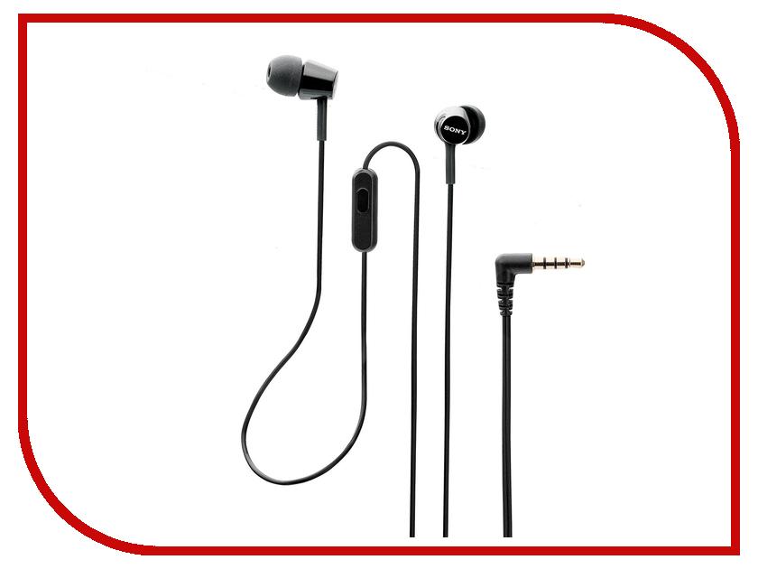 Sony MDR-EX155AP Black sony icd ux560 black