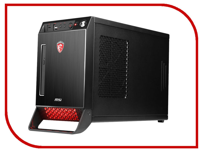 Настольный компьютер MSI Nightblade X2B-273RU 9S6-B10611-273 (Intel Core i5-6400 2.7 GHz/8192Mb/1000Gb + 128Gb SSD/DVD-RW/nVidia GeForce GTX 1060 6144Mb/Wi-Fi/Windows 10 64-bit)