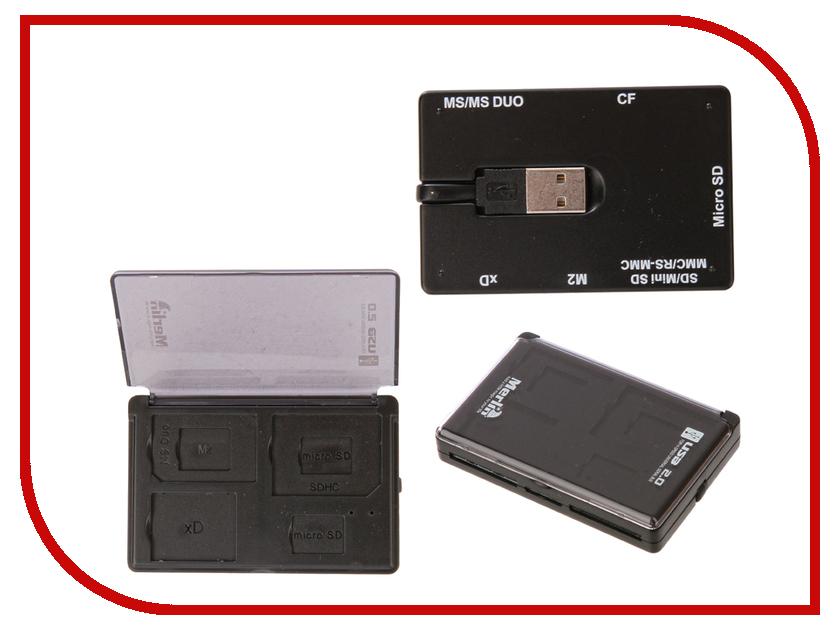 Карт-ридер Merlin Slim USB+SIM Reader адаптеры для sim и карт ридер mango device sim adaptor and card reader