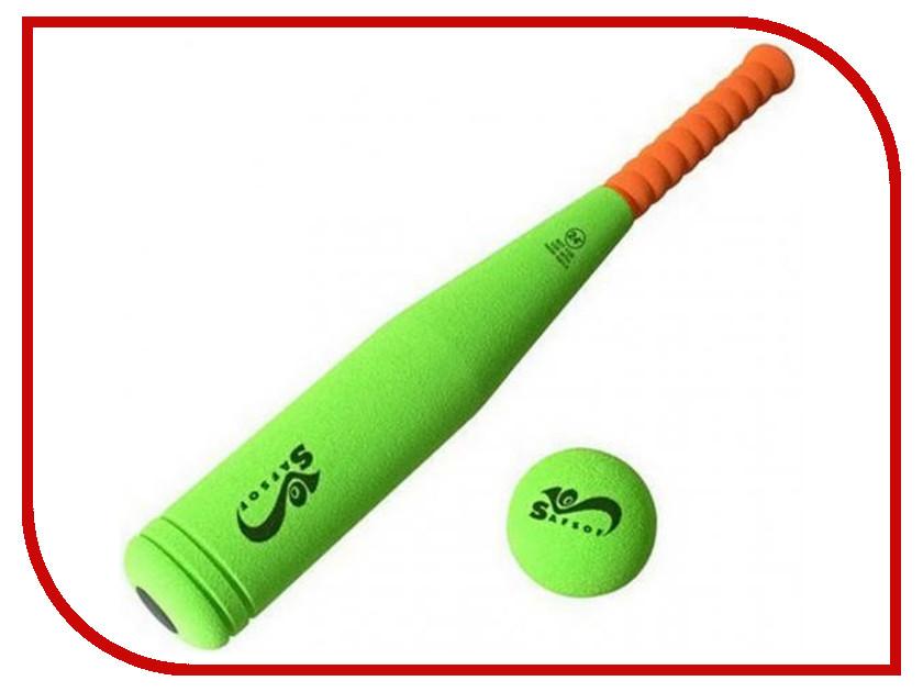 Игрушка SafSof Бита Бейсбольная 45cm BB-18 бита бейсбольная cold steel tire boss bat 50 8 см