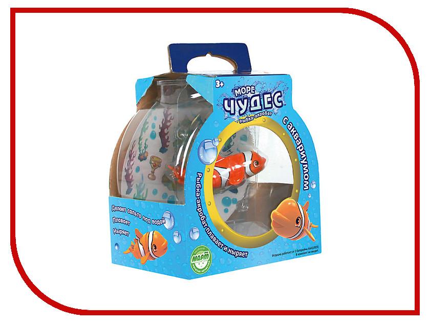 Игрушка Redwood Рыбка-Акробат Лаки с Аквариумом 159024 море чудес море чудес роборыбка рыбка–акробат лаки с аквариумом