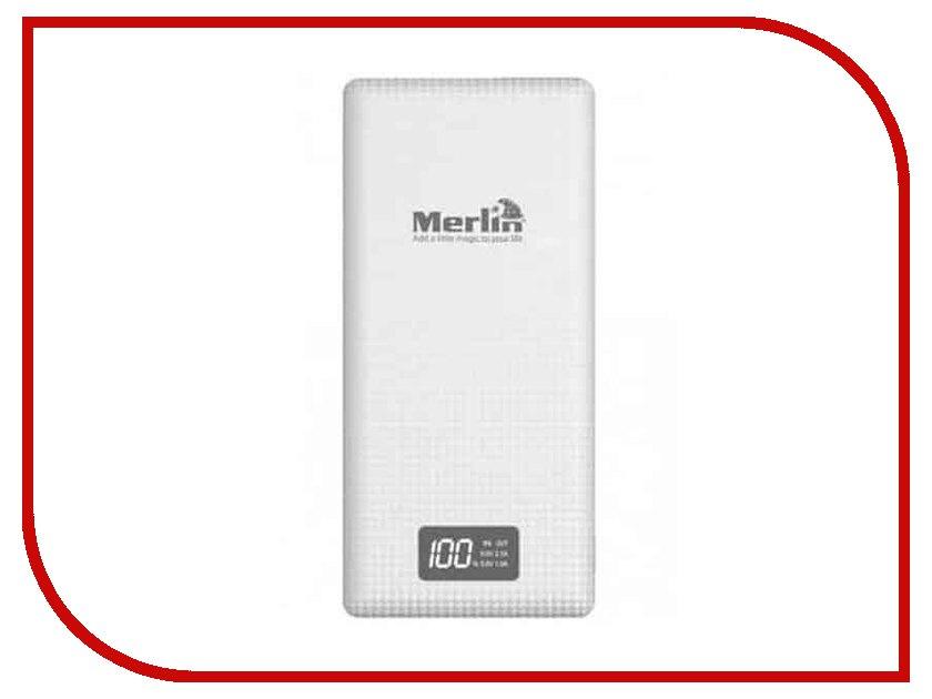 Аккумулятор Merlin 20000mAh аккумулятор globusgps gl pb29 20000 mah black