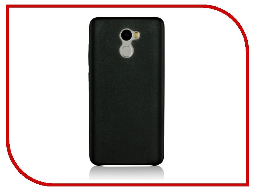 Аксессуар Чехол Xiaomi Redmi 4 G-Case Slim Premium Black GG-833