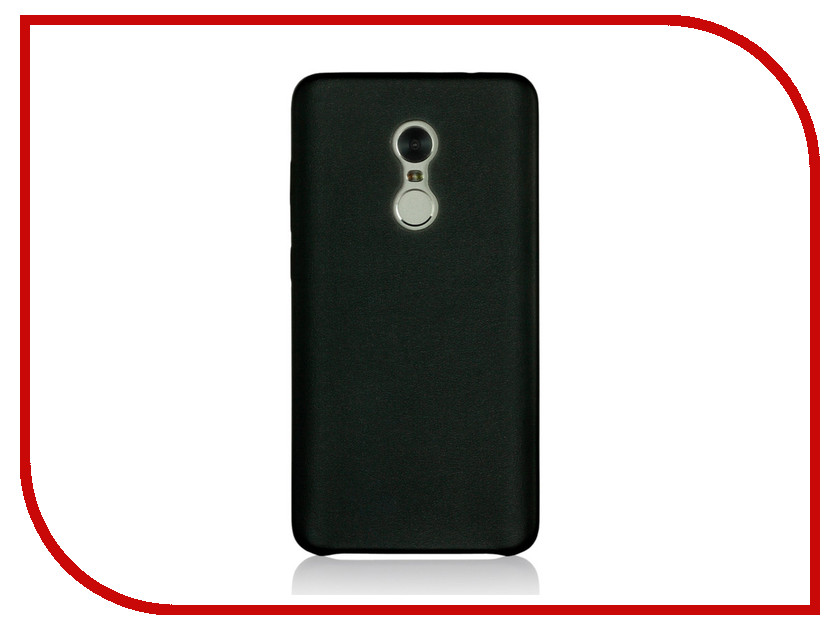 Аксессуар Чехол Xiaomi Redmi Note 4 G-Case Slim Premium Black GG-836