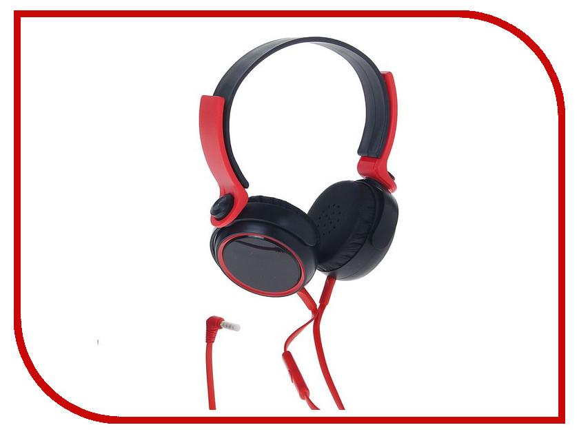 Гарнитура Luazon Сити Black-Red 1262942 фен luazon lf 04 1131114 black